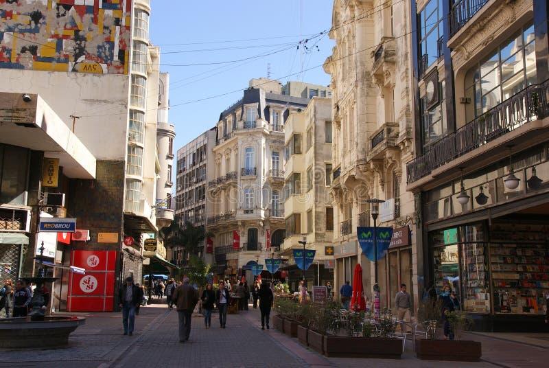 Montevideo Uruguay arkivbilder