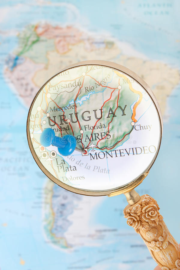 montevideo uruguay royaltyfri fotografi