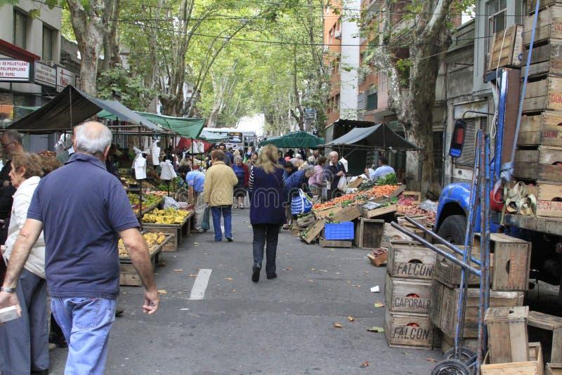 Montevideo Uruguay stockfotos
