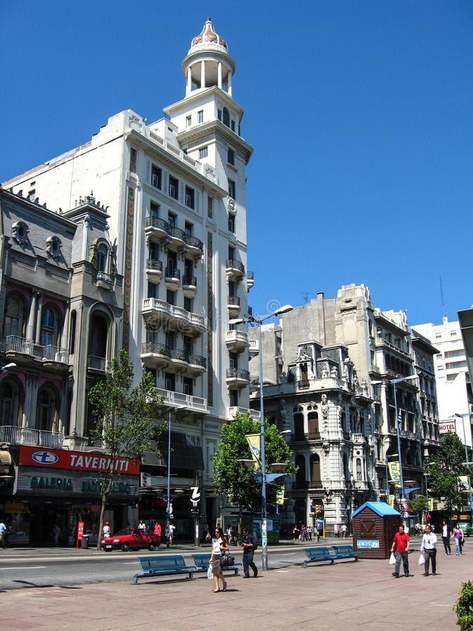 'Montevideo, Uruguay, Enero 14, 2011: turism semester, melbourne, lim fotografering för bildbyråer