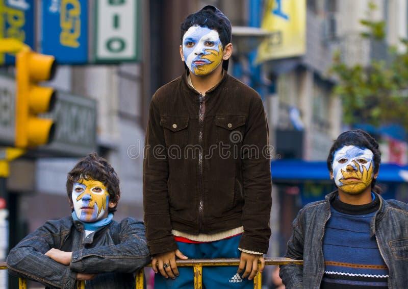 montevideo uruguay för 2010 kopp värld fotografering för bildbyråer