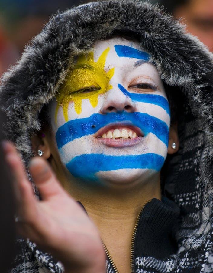 montevideo uruguay för 2010 kopp värld arkivfoton