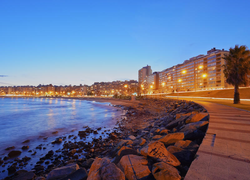 Montevideo royalty free stock photography