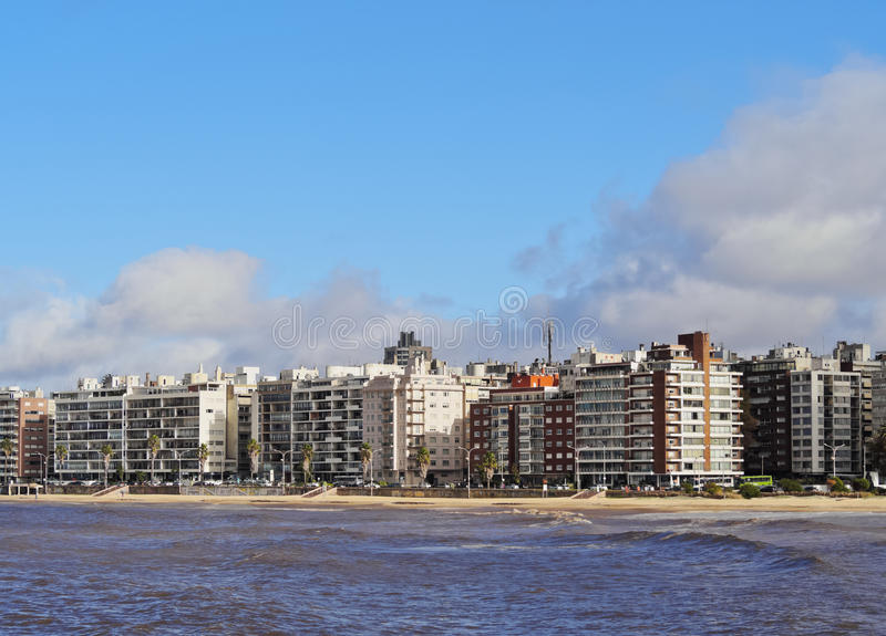 Montevideo royalty free stock images