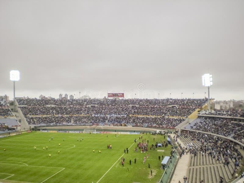 Montevideohundraårsdagstadion royaltyfria foton