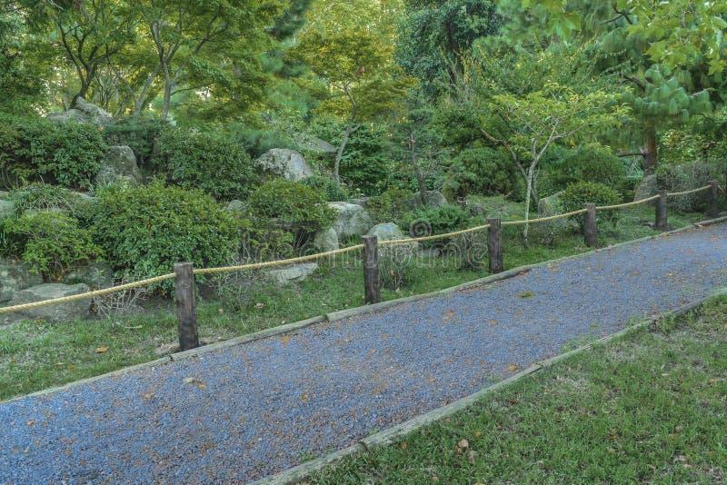 Montevideojapanträdgård arkivfoton