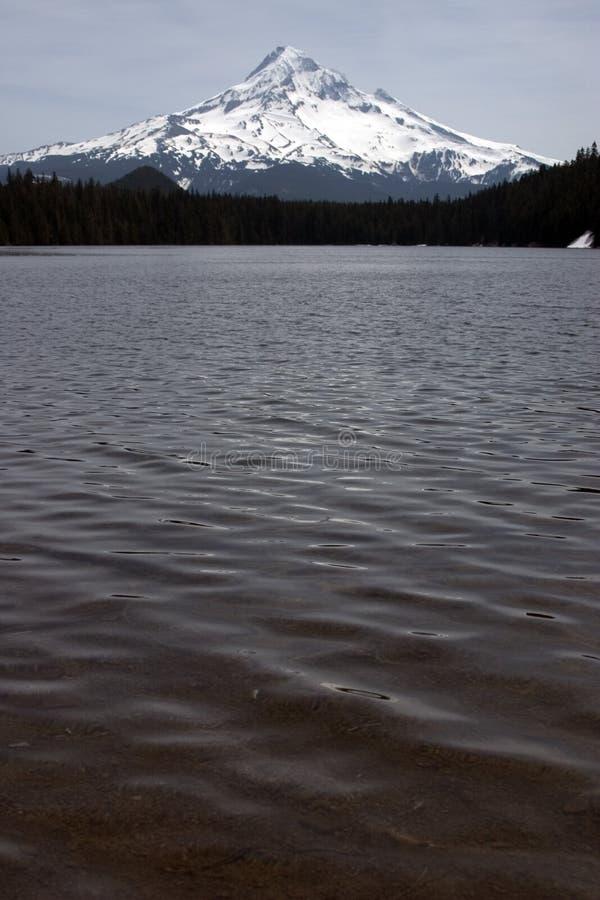 Montez Le Capot Du Lac Perdu Photographie stock