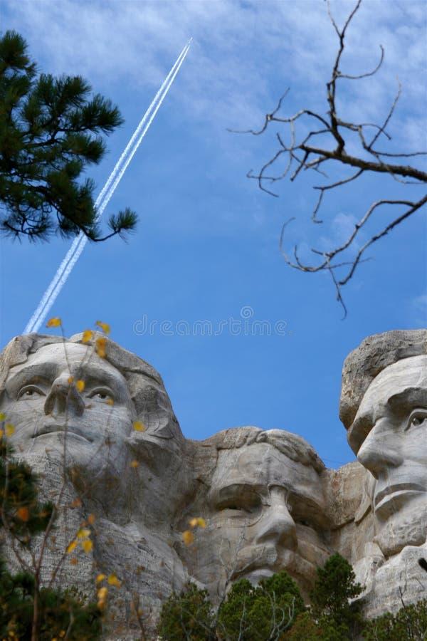 Montez Rushmore, le Dakota du Sud photographie stock