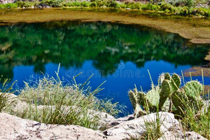 Montezuma bem do Arizona fotos de stock royalty free