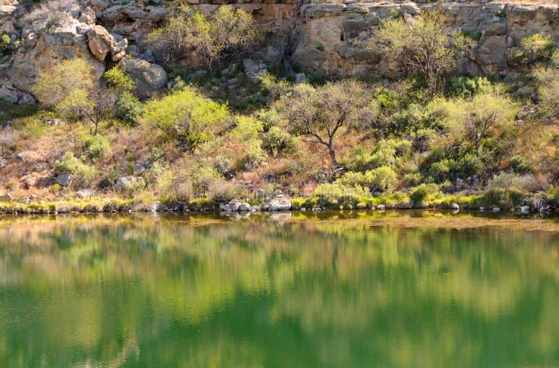 Montezuma verlaat goed pool royalty-vrije stock fotografie