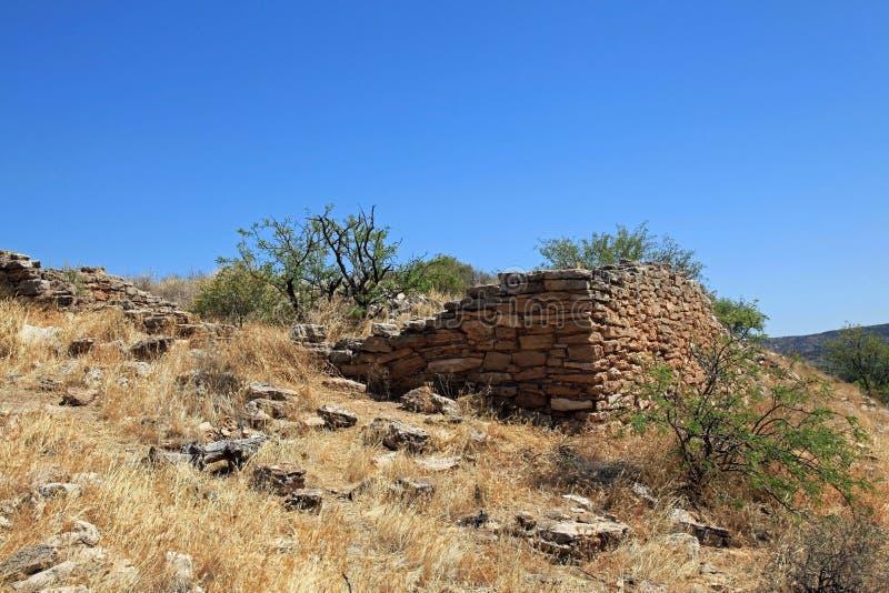 Montezuma Well Krajowy zabytek fotografia stock