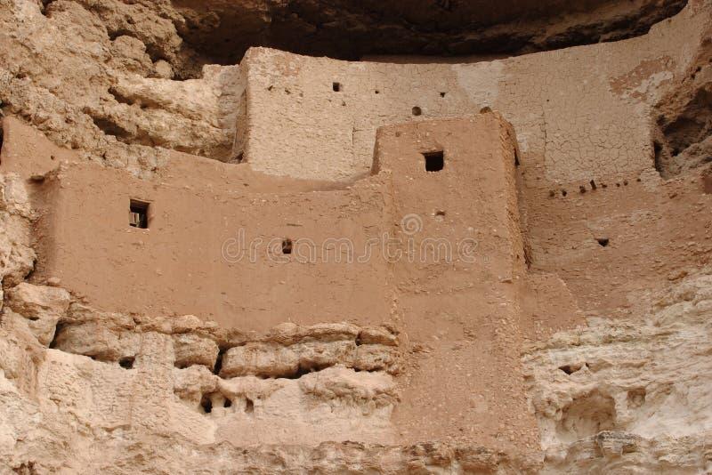 montezuma z zamku ruin obrazy stock