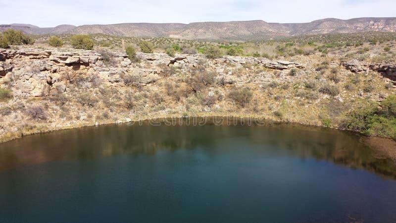 Montezumas-Brunnen stockfotos