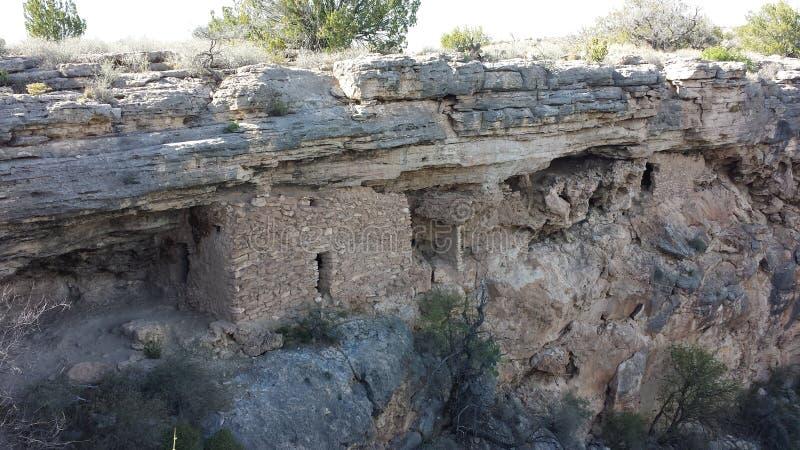 Montezumas-Brunnen-Wohnungen stockbilder