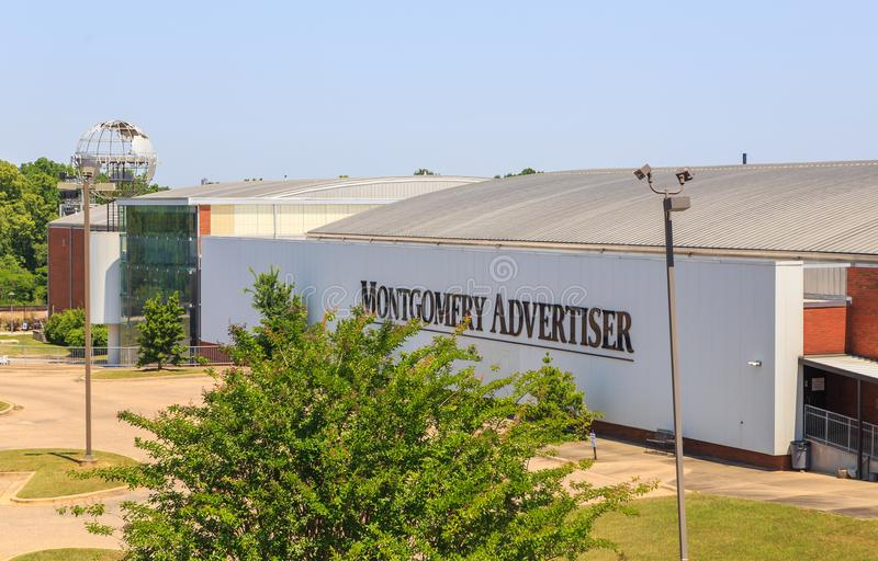 Montgomery Advertiser imagenes de archivo