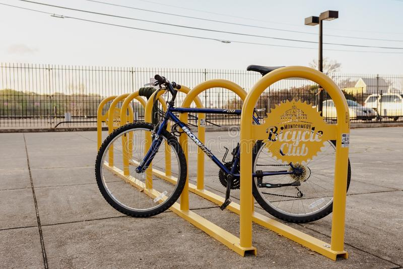 Montgomery Bicycle Club kugge arkivbild