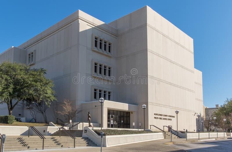 Montgomery County Courthouse royaltyfri fotografi