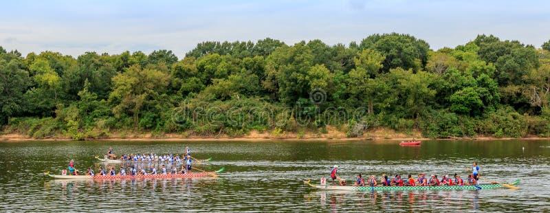 Montgomery Dragon Boat Festival 2015 foto de archivo