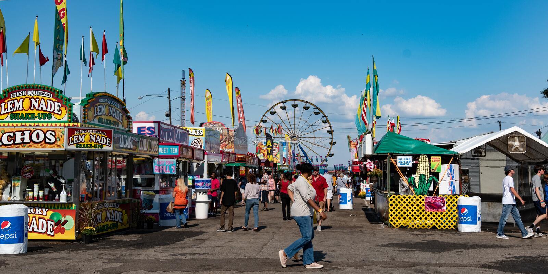 Montgomery National Fair arkivfoto