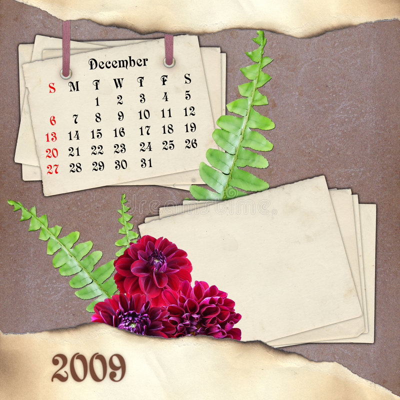 Download The Month Of December. Royalty Free Stock Photos - Image: 7271438