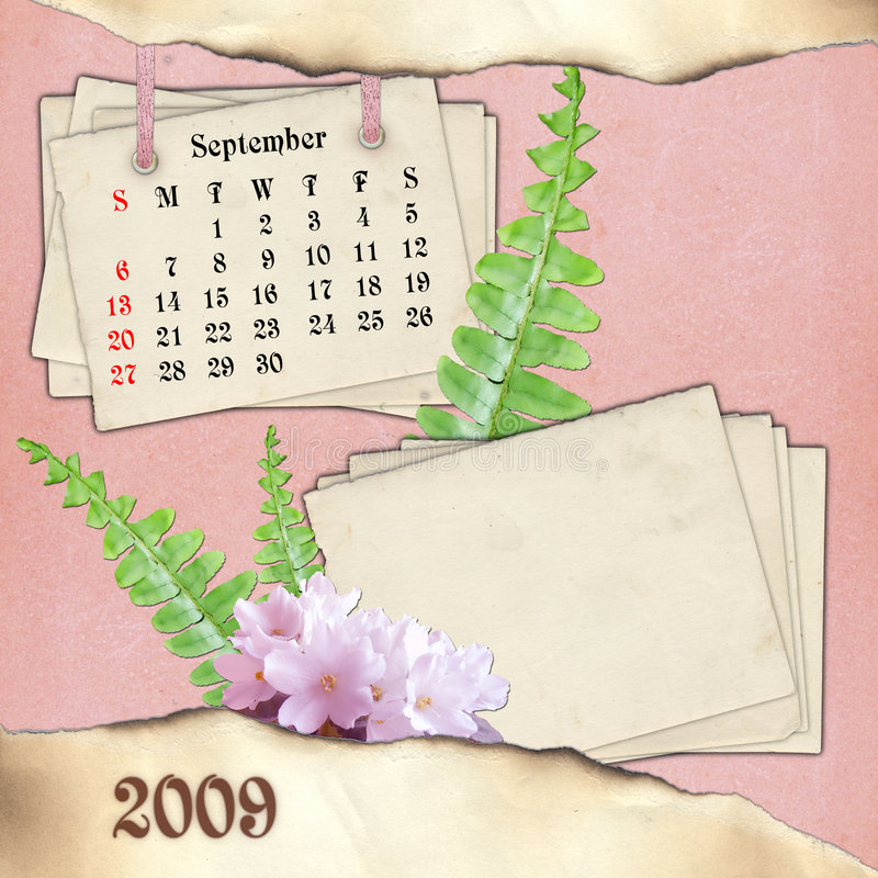 The Month Of September. Stock Images