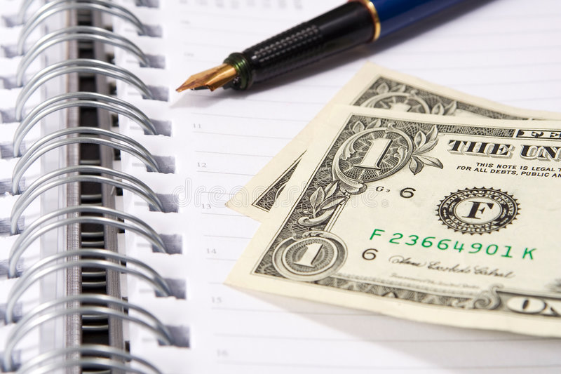 Monthly payment royalty free stock image
