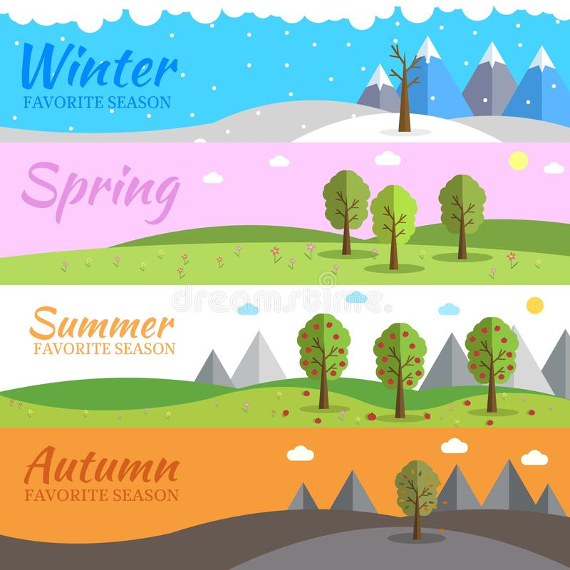 Months Weather Stock Illustrations – 177 Months Weather Stock