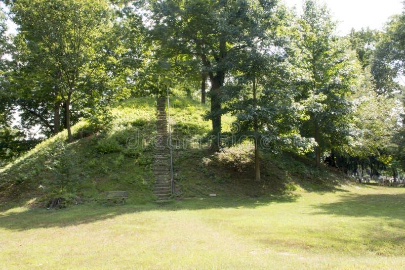 Monticello del cono in Marietta, Ohio immagini stock libere da diritti
