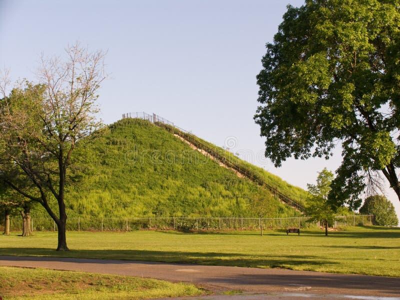 Monticello dell'indiano di Miamisburg fotografie stock libere da diritti