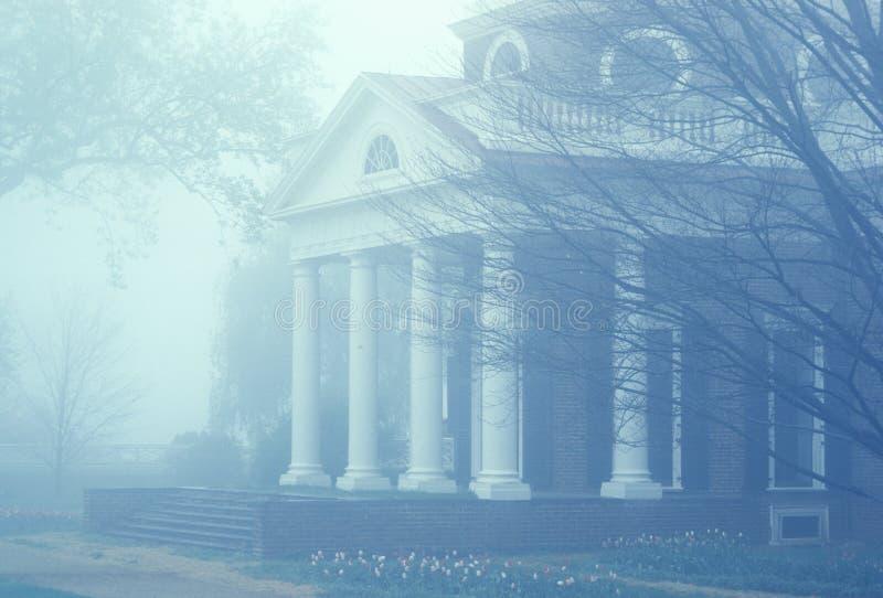 Monticello utgångspunkt av Thomas Jefferson arkivfoton