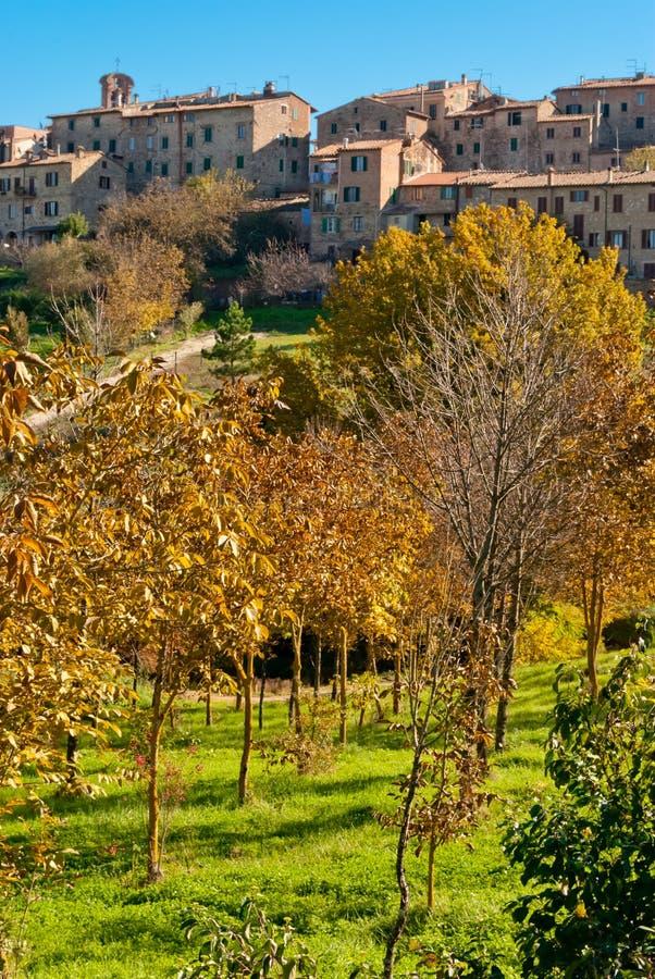 Monticiano, Tuscany obraz stock