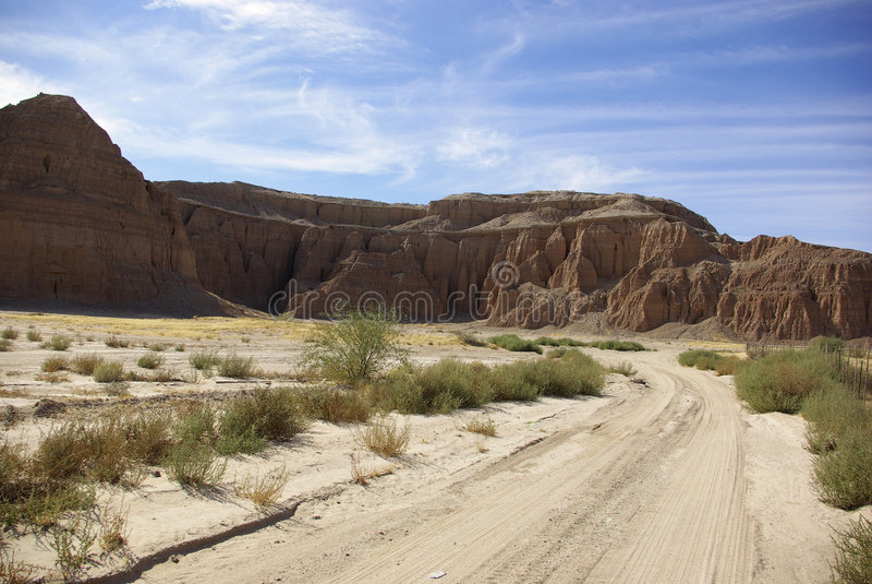 Monticules rouges de l'Arizona photographie stock