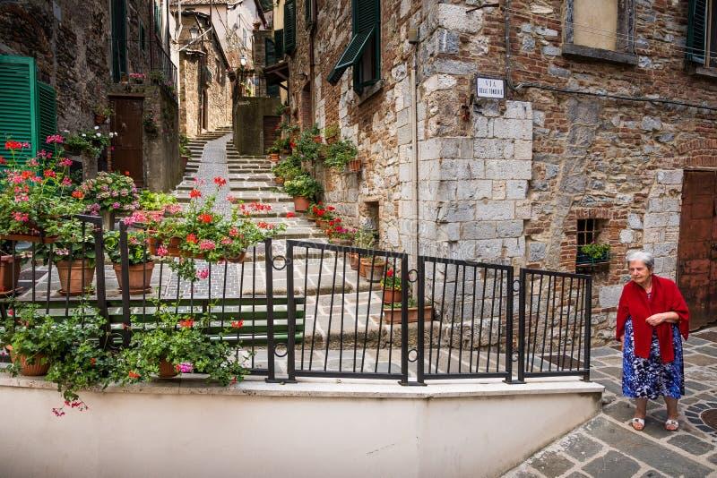 Montieri, Grosseto, Toscane - Italie photo stock
