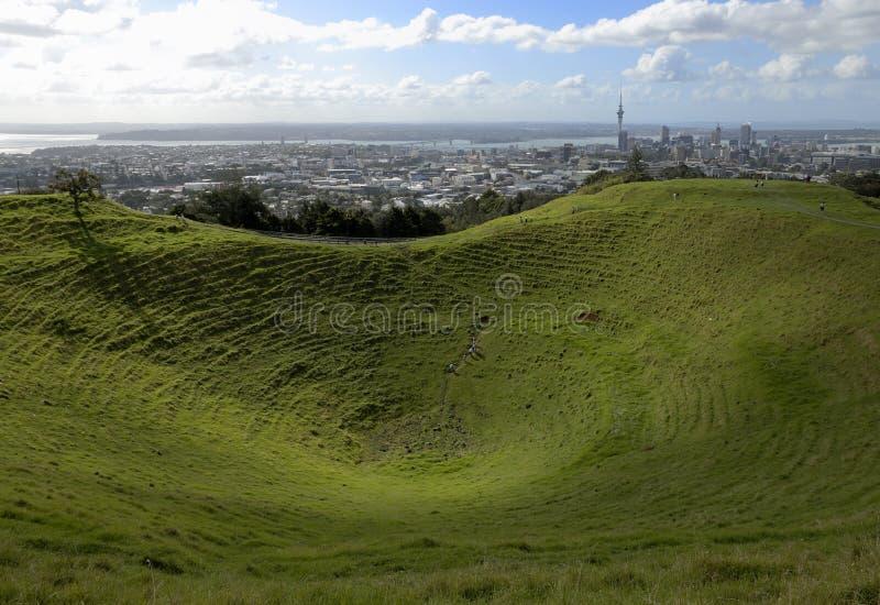 Montierung Eden, Auckland lizenzfreie stockbilder