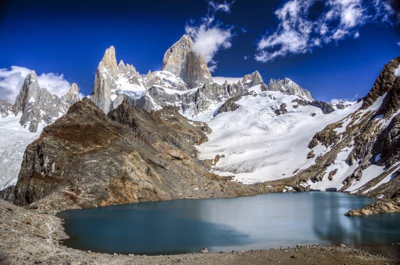 Montierung Fitz Roy, Patagonia, Argentinien lizenzfreie stockfotos