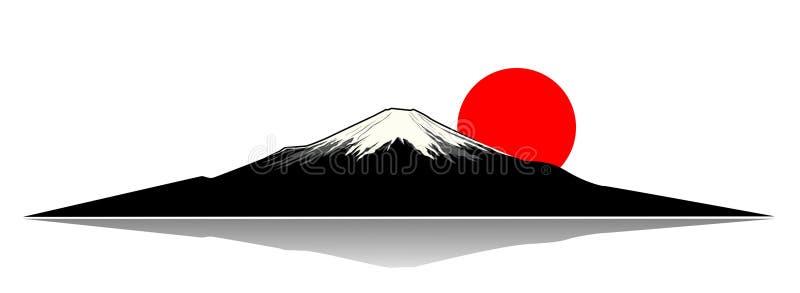 Montierung Fuji vektor abbildung