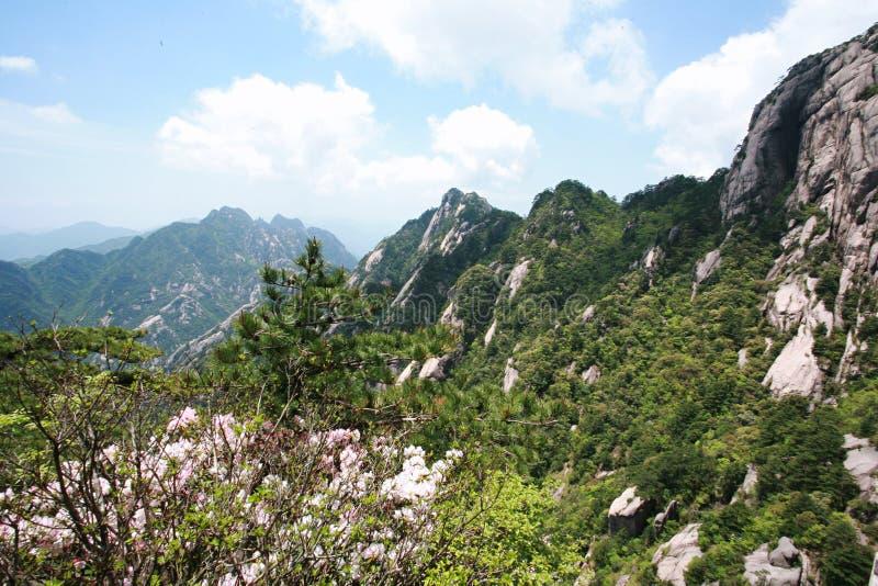 Montierung Huangshan stockbild