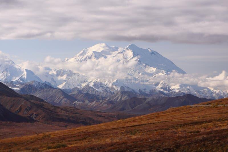 Montierung McKinley, Alaska stockbilder