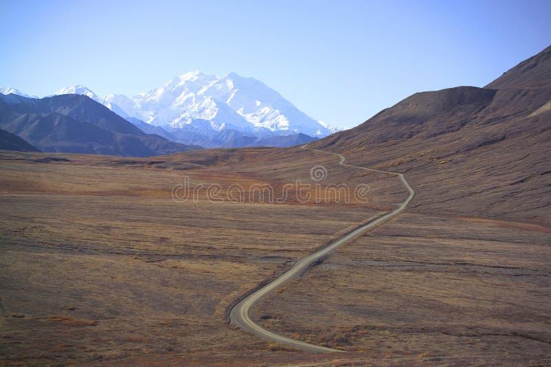 Montierung McKinley, Alaska, USA stockfoto