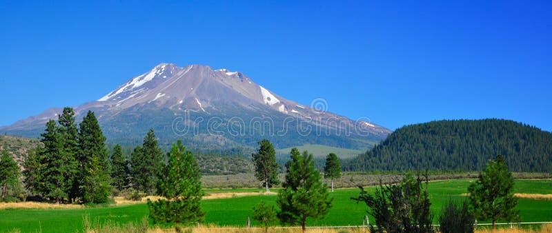 Montierung Shasta stockbild