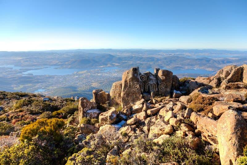 Montierung Wellington, Tasmanien lizenzfreie stockfotos