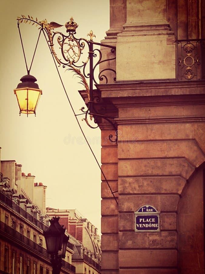montmartre巴黎街道 图库摄影
