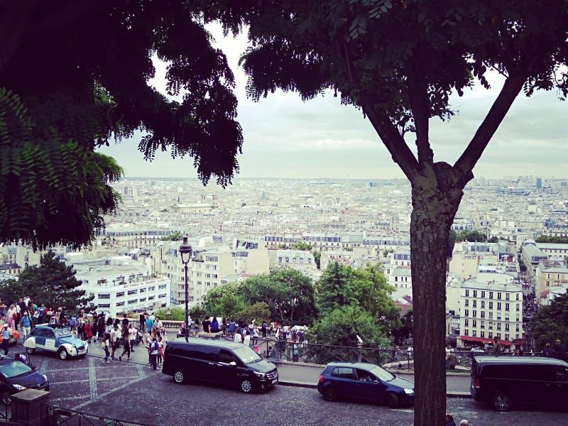 Montmartre arkivfoton