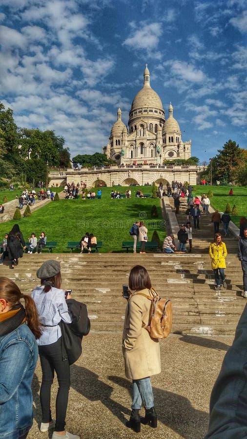 Montmartre royalty-vrije stock fotografie