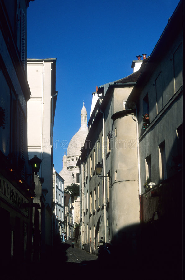 Download Montmartre stock image. Image of heart, churches, couer - 241507
