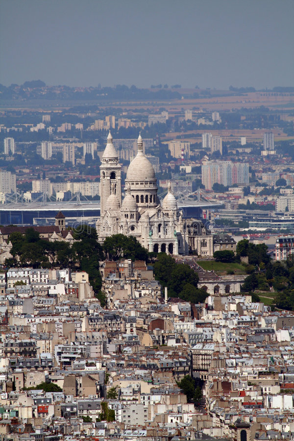 Download Montmartre Cathedral Royalty Free Stock Photography - Image: 1147217