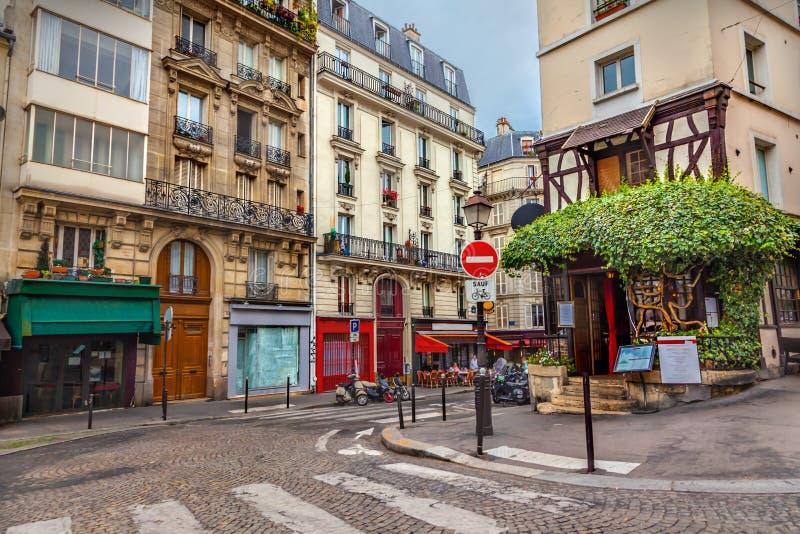 Montmartre a Parigi fotografie stock