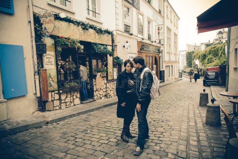 Montmartre Parijs royalty-vrije stock foto's