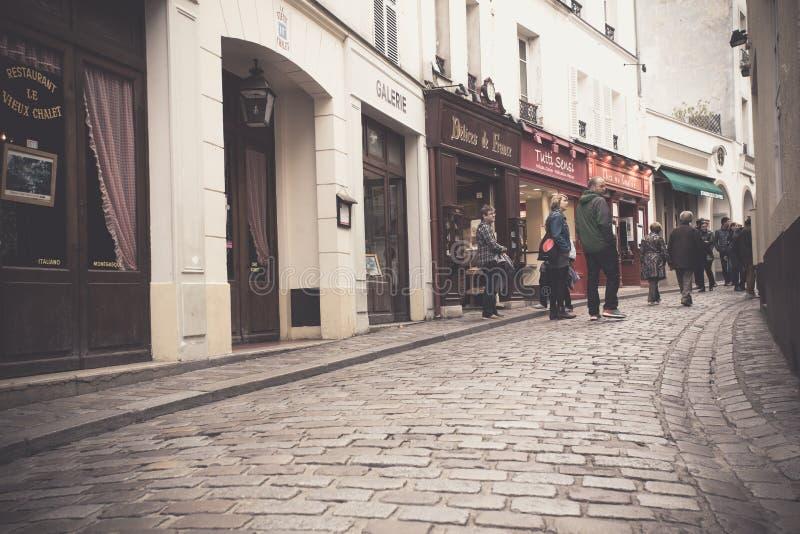 Montmartre Parijs stock foto