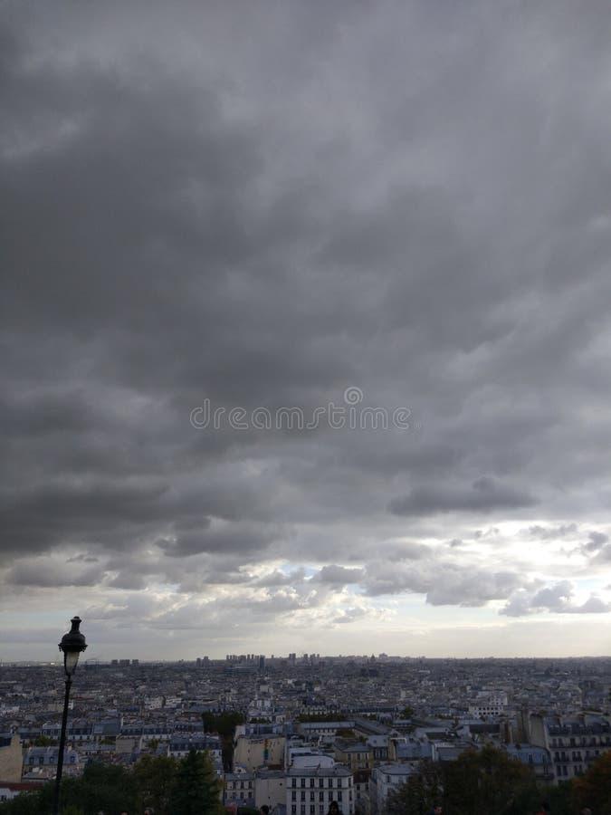 Montmartre Paris royaltyfria bilder